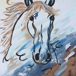 Wild horse By Charlotte  Reber