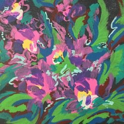 , Abstract Orchids, Abstract, $415