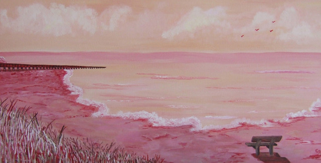 Charlene Richards  'Longing', created in 2007, Original Painting Other.