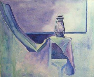 Artist: Chetan Patil - Title: Guiding Light - Medium: Watercolor - Year: 2007