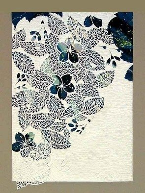 Choko Nakazono: 'link b', 2011 Mixed Media, Beauty.    I've been working various distinct styles, making from Japanese traditional patterns or flower, involving abstracted designs.        ...