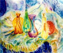 - artwork Coloured_light_bulbs-965176934.jpg - 2000, Painting Oil, Still Life