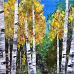 Fall Aspen With Thunderbird, Chris Jehn