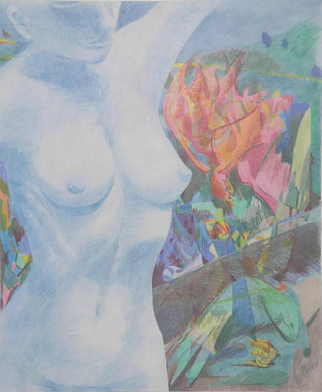 Christine Haehner Murdock Artwork 2 BZ 2 C, 2006 Pencil Drawing, Figurative