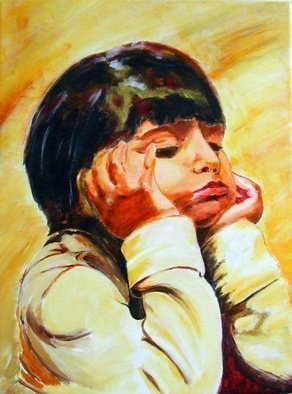 Artist: Christian Mihailescu - Title: Sara  - Medium: Acrylic Painting - Year: 2010