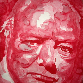 winston churchill By Christian Draeger