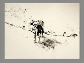 Christian Prodanow Artwork No title, 2009 Monoprint, Landscape