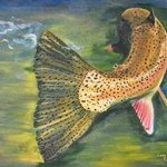 trout tail By Cindy Pinnock