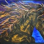 wild horse By Cindy Pinnock