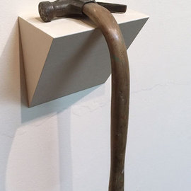 Seyo Cizmic: 'Exhaustion', 2012 Mixed Media Sculpture, Surrealism. Artist Description:  Seyo Cizmic - Exhaustion - Redesigned hammer ...
