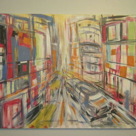 Christopher Hrynyk Artwork Way too fast, 2010 Acrylic Painting, Representational