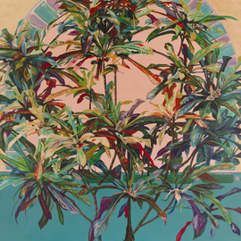 Croton Wreath, Caren Keyser