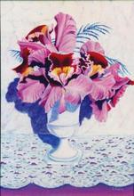- artwork Orchid_Vase-1012170954.jpg - 1982, Painting Acrylic, Still Life