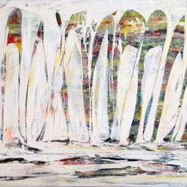 White Abstract 3, Caren Keyser