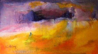 Artist: Clari Netzer - Title: Purple rain - Medium: Oil Painting - Year: 2013