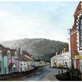 West st Dunster By Chris Clarke