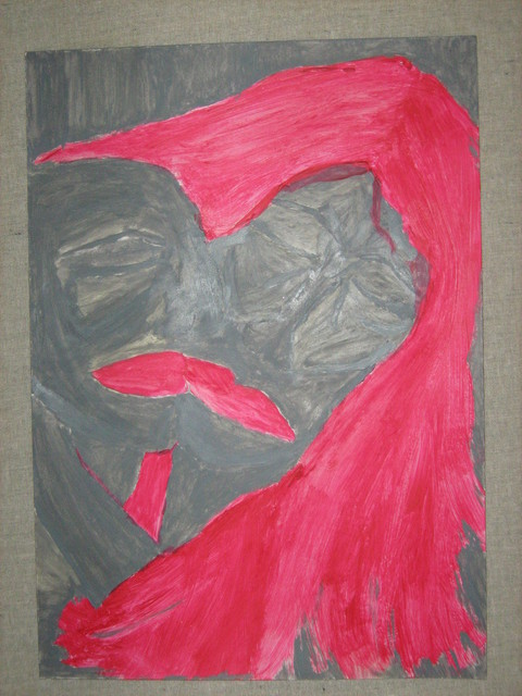 Popa Claudia  'Love', created in 2007, Original Artistic Book.