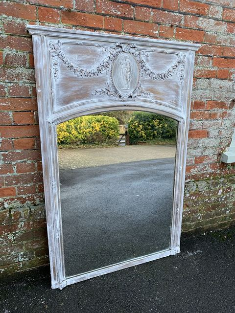 Cleall Antiques  'Antique French Mirrors', created in 2020, Original Glass Blown.