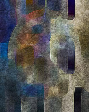 Cheryl Hrudka: '9602 stone face', 2020 Digital Art, Abstract. My work incorporates a lot of color and texture. ...