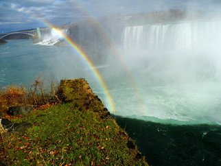 Clinton Lown: 'Oh Mighty Niagara', 2014 Digital Print, Spiritual.    This is a digital photograph  ...