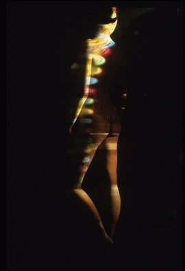 Claudia Nierman: '27Celestial automaton', 1999 Cibachrome Photograph, nudes.  This image is also available printed on canvas 57 x 80; and in cibachrom 32x 45. ...