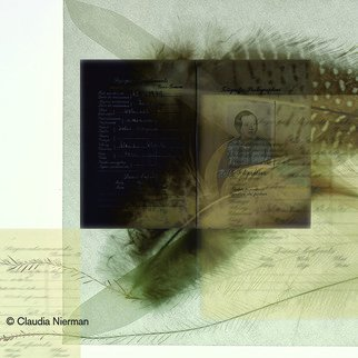 Claudia Nierman: 'Aunt Gella', 2005 Other Photography, Mystical.   This image can be printed in several seizes including47