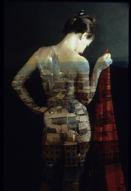 Claudia Nierman: 'City dressed', 1999 Cibachrome Photograph, nudes.  This image is also available printed on canvas 57 x 80. ...
