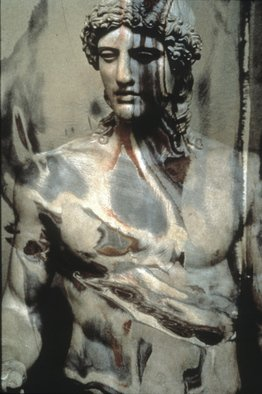 Claudia Nierman: 'David', 1997 Cibachrome Photograph, Mythology.   This image is also available printed on canvas 57 x 80; and in cibachrom 32x 45.  ...