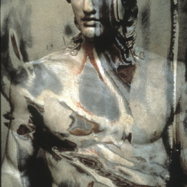 Claudia Nierman: 'David', 1997 Cibachrome Photograph, Mythology. Artist Description:   This image is also available printed on canvas 57 x 80; and in cibachrom 32x 45.  ...