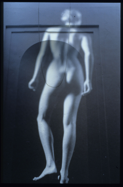 Claudia Nierman: El Umbral Azul, 1999 Cibachrome Photograph
