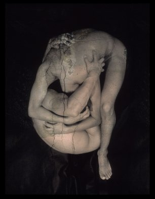 Claudia Nierman: 'Messengers from Pompeii', 2004 Cibachrome Photograph, nudes.