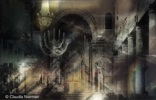 Claudia Nierman  'Mystical Architecture', created in 2007, Original Photography Digital.