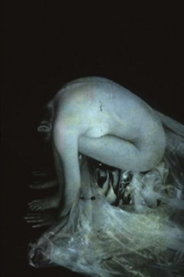 Claudia Nierman: 'Ninfa', 2004 Cibachrome Photograph, nudes.   This image is also available printed on canvas 57 x 80.  ...