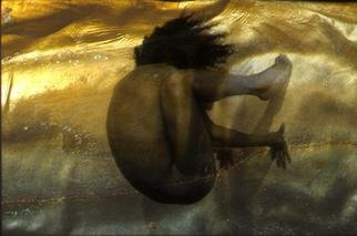 Claudia Nierman: 'Ocean cataclysm', 2004 Cibachrome Photograph, nudes.