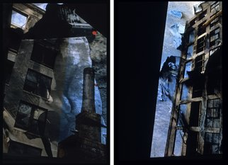 Claudia Nierman: 'Urban Mirage', 1999 Cibachrome Photograph, Architecture. Artist Description:  Part of a Series on ArchitectureThis is a diptych. Each image is 14 x 22. This image is also available printed on canvas 57 x 80; and in cibachrom 32x 45. ...