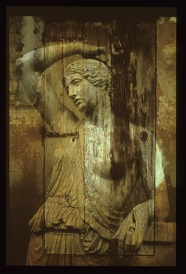 Claudia Nierman Artwork Wooden Secret, 2000 Cibachrome Photograph, Mythology