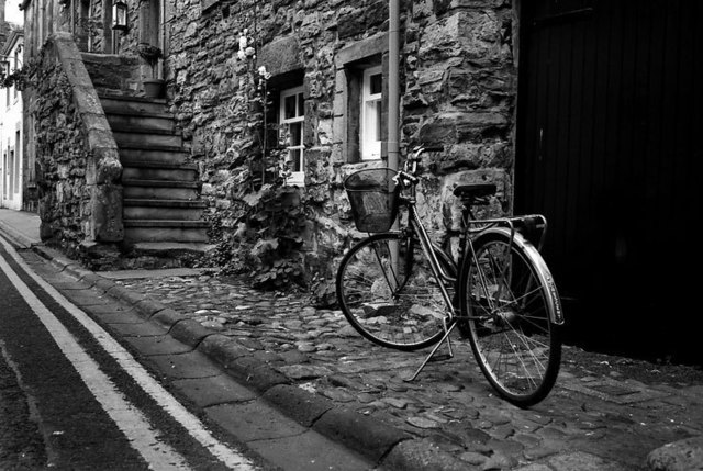 Cody Todd  'The Bicycle', created in 2008, Original Photography Black and White.
