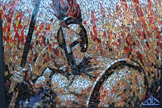 Joseph And Sons Mosaics Artwork MOSAIC SPARTAN, 2014 MOSAIC SPARTAN, War