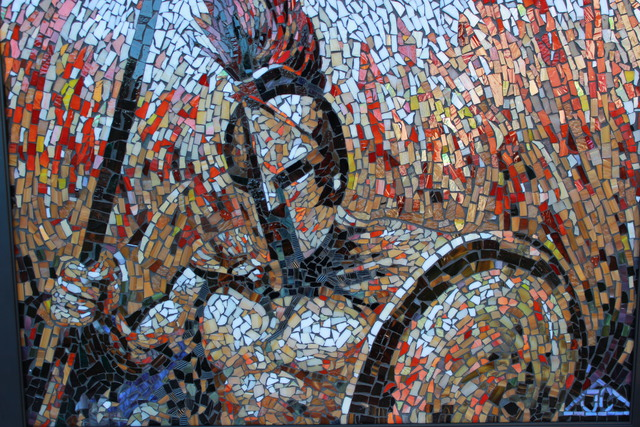 Joseph And Sons Mosaics Artwork Mosaic Spartan Original