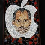 Steve Jobs Mosaic, Joseph And Sons Mosaics