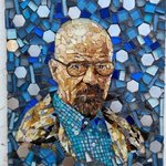 walter white By Joseph And Sons Mosaics