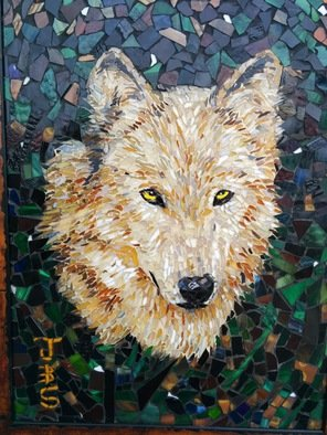 Joseph And Sons Mosaics Artwork wolf mosaic, 2014 wolf mosaic, Animals