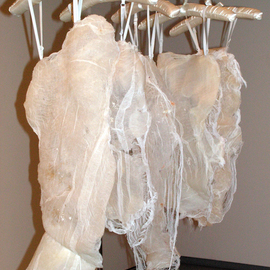 Nicole Morris Artwork Silicone Bodices, 2004 Mixed Media Sculpture, Figurative