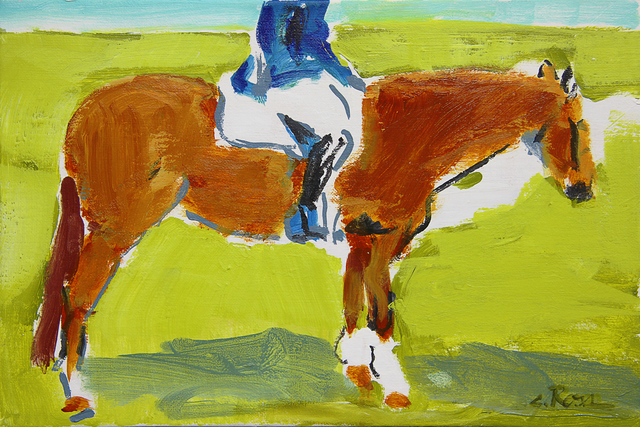Colleen Ross Raleigh In Pasture 2017