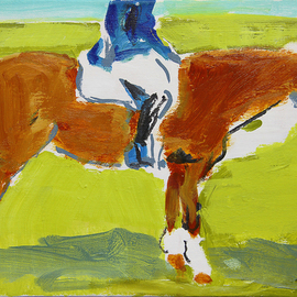 Raleigh In Pasture, Colleen Ross