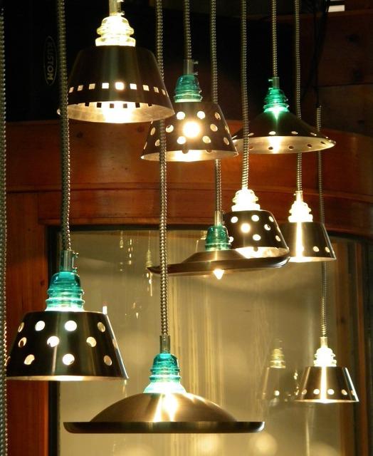 Collin allen artwork glass insulator lights quantity 12 for Telephone insulator light fixture