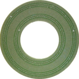 Single Charm Round Mirror Green Color, Connie Patterson