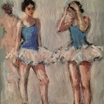 Ballerinas Conversation, Connie Chadwell
