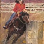 Barrel Racer, Connie Chadwell