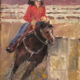 barrel racer By Connie Chadwell